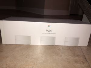 GOOGLE WIFI 3 PACK!!!!! for Sale in New Orleans, LA