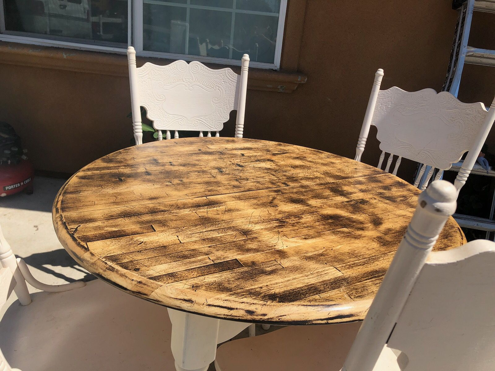 Dining Table With 4 Chairs / Comedor De 4 Sillas