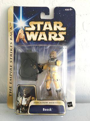 ($3) NEW Star Wars Saga Bossk Figure/ Toy Empire Strikes Back Hasbro ©️2004 for Sale in Phoenix, AZ