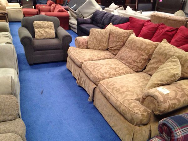 2nd Hand Luxury Floral Couch Set For Sale In Fort Worth TX