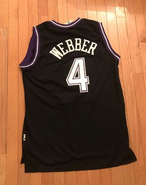 NEW Webber #4 Kings Sacramento jersey Large for Sale in Fairfax, VA