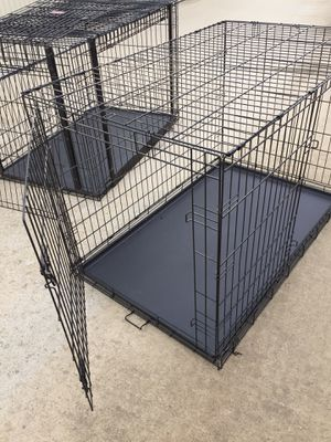 Only 1 Ex-Large, 2-door Dog Crate remaining! for Sale in Fresno, CA
