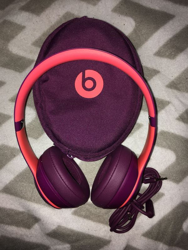 """e67b5d92176 Beats Solo3 Wireless """"Pop Magenta"""" for Sale in Tallahassee, FL - OfferUp"""