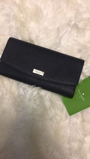 NWT Kate Spade Black Wallet for Sale in Troy, MI