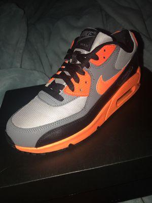 Nike Air Max 90s total orange 6Y for Sale in Hyattsville, MD