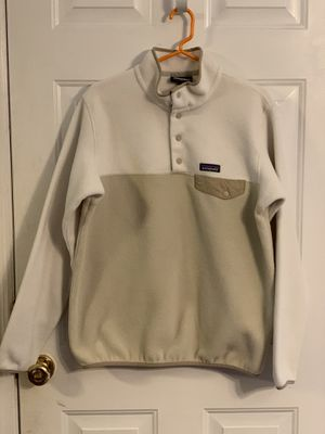 e493a151 Patagonia Lightweight Synchilla Snap-T Pullover (Women's size large)  Tan/Cream for