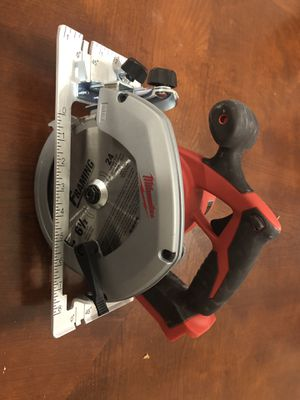 NEW MILWAUKEE Circular Framing Saw - 2630-20 M18 cordless for Sale in Houston, TX