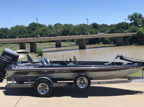 1988 RANGER 350V 18FT W/150 HP EVINRUDE for Sale in Murphy, TX - OfferUp
