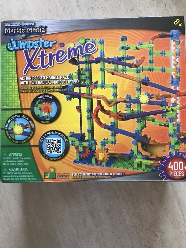 Jumpster Xtreme Action Packed Marble Maze.