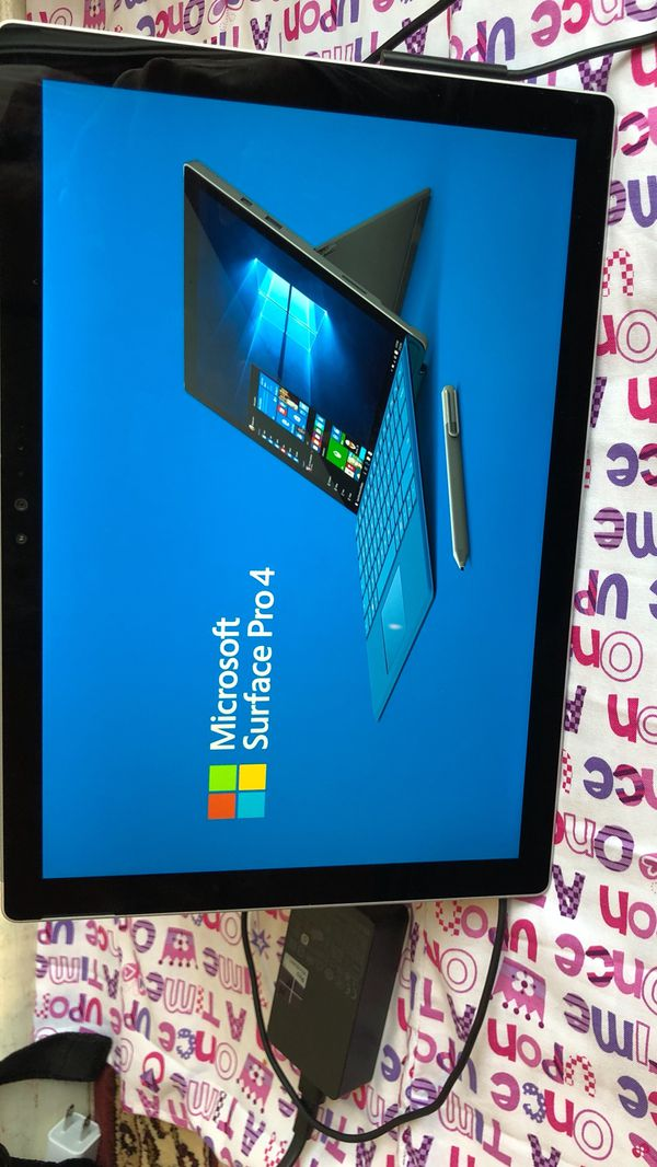 Microsoft Surface Pro 4 Tablet touch screen computer for Sale in Garden  Grove, CA - OfferUp