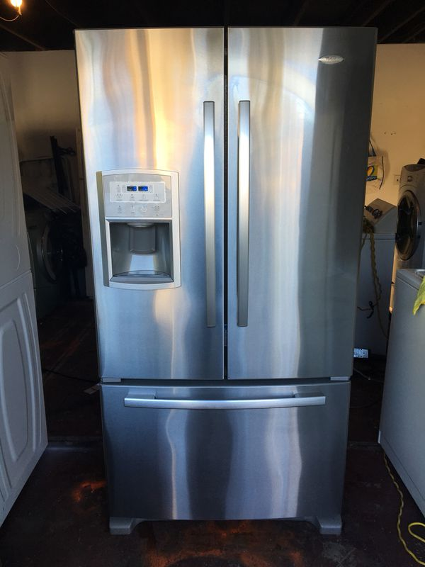 Whirlpool Gold French Door Counter Depth Refrigerator For Sale In