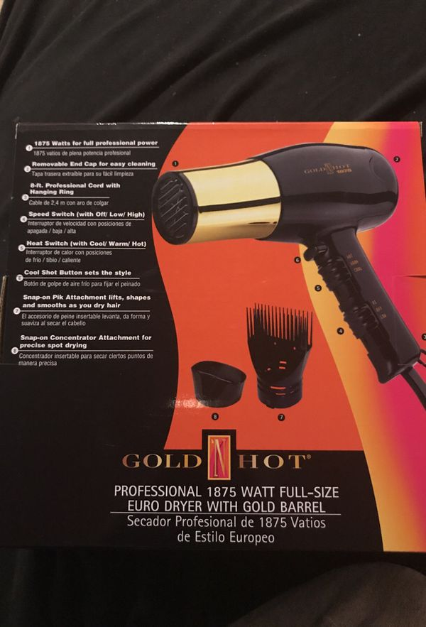 snap on hair dryer