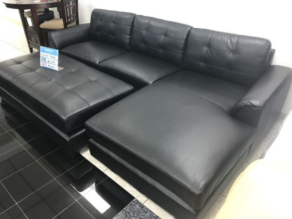 Comfy New Biscayne sectional sofa and ottoman set ON SALE ONLY $699 ...