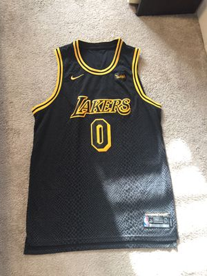 super popular b0050 f629b Kyle Kuzma lakers jersey black mamba kobe for Sale in Alhambra, CA - OfferUp