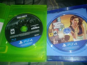 2 ps4 games for sale for Sale in Detroit, MI