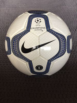 BRAND NEW OFFICIAL NIKE SOCCER BALL SIZE 5 FIFA ARRPOVED CHAMPIONS LEAGUE for Sale in Lincolnia, VA