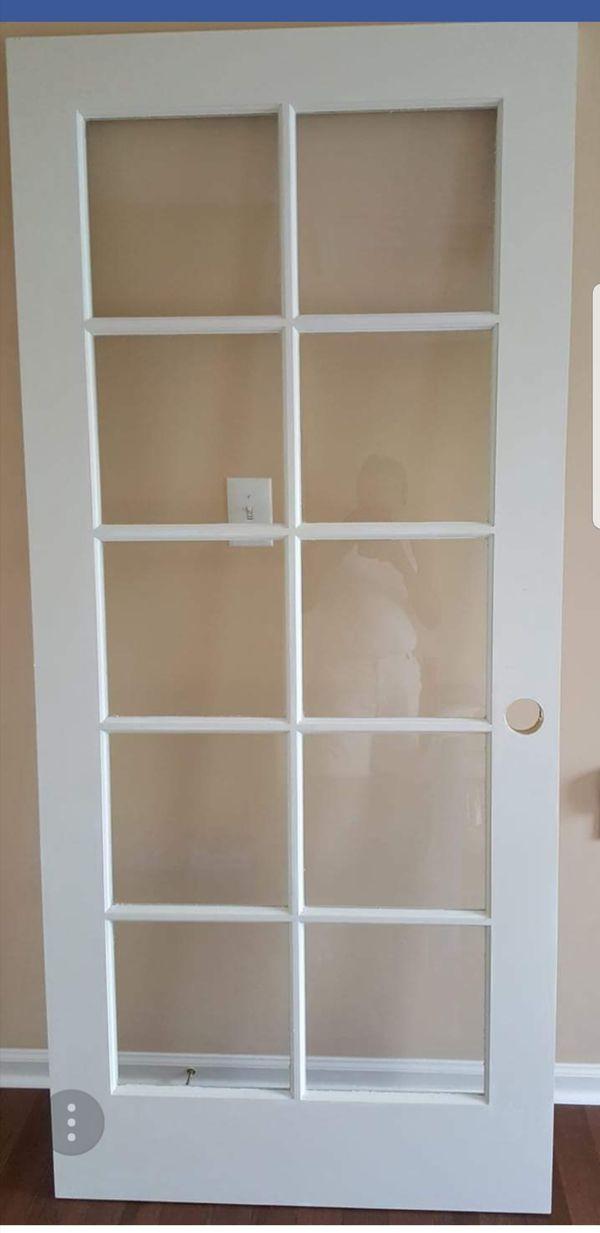 Beautiful Wood Framed Glass Door For Sale In Elkridge Md