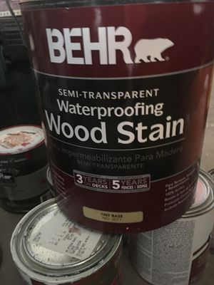 Deck stain NEW never used gallon for Sale in Herndon, VA