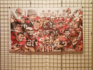 Washington Redskins Legends Banner 3ftx5ft NFL for Sale in Manassas, VA