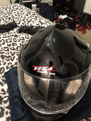 Motorcycle helmet Vega technical gear for Sale in Boston, MA