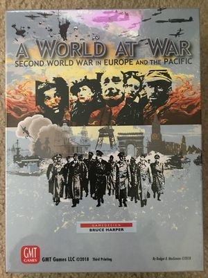Board game, GMT games , A World at War for Sale in Arlington, VA