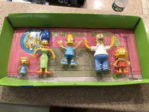 1990 The Simpson's bendable Action figures toy for Sale in Pennsauken Township, NJ