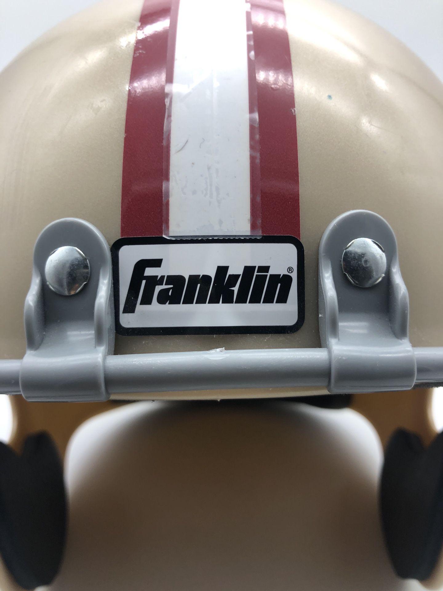 49ers Plastic Franklin Helmet