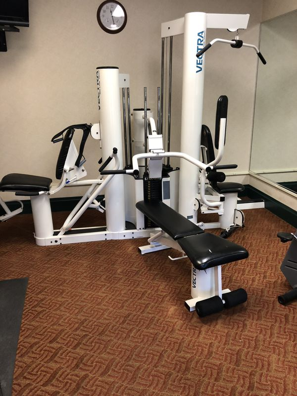 Home gym vectra online 3800 for sale in university place wa offerup