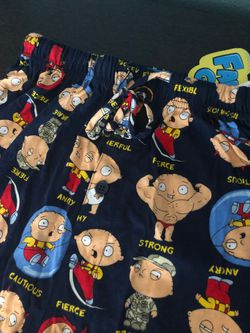 Family Guy Stewie Pajama Pants Size Small - brand new still has tags Thumbnail