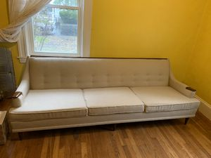 90 in 3 seater mid century sofa for Sale in Boston, MA