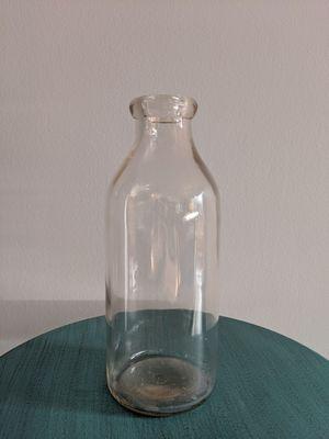 Vintage heavy glass milk bottles for Sale in Falls Church, VA