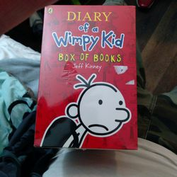 Diary of a Whimpy Kid Box of Books Sealed!!! Thumbnail