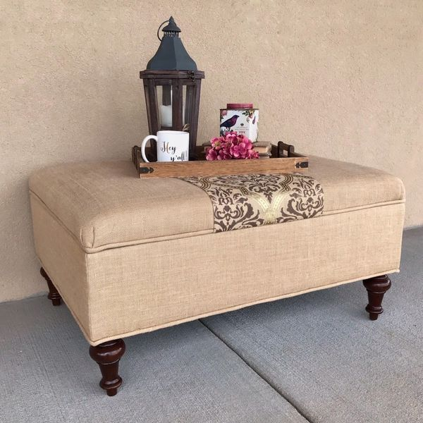 Awe Inspiring Ballard Ottoman Coffee Table Rascalartsnyc Andrewgaddart Wooden Chair Designs For Living Room Andrewgaddartcom
