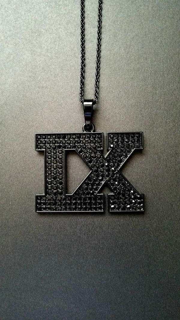 Tech n9ne black ix bling pendant for sale in fresno ca offerup open in the appcontinue to the mobile website aloadofball Gallery
