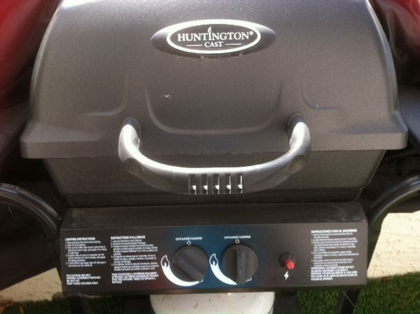 Huntington Gas Grill With Cover For Sale In Las Vegas Nv