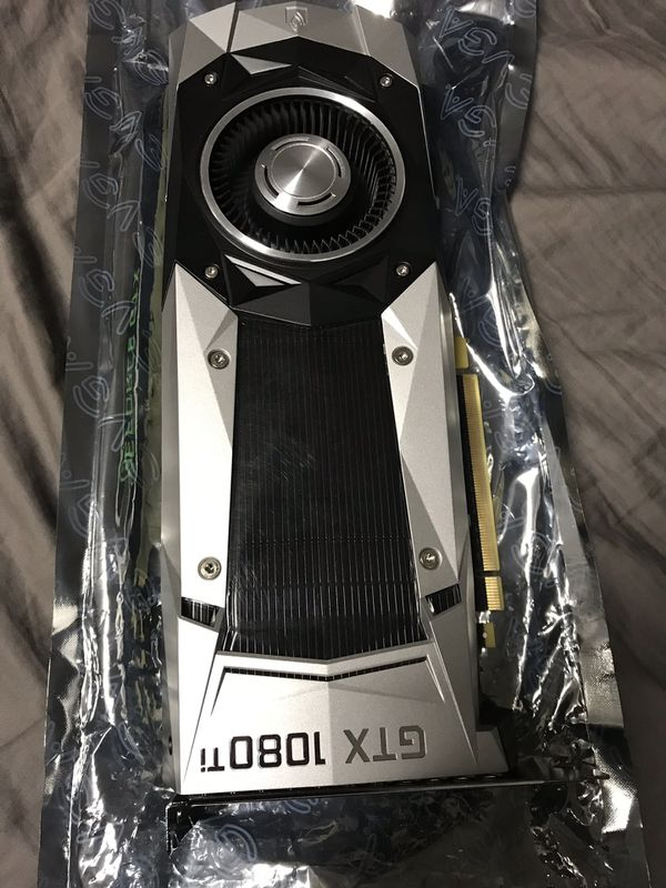 Nvidia GeForce Gtx 1080 ti founders edition for Sale in San Jose, CA -  OfferUp
