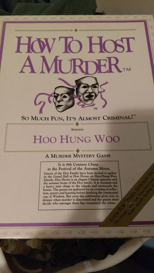 How to host a murder 1986 version for Sale in Appomattox, VA