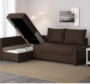Frighten Sofa Sleeper with storage for Sale in Seattle, WA