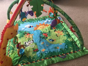 Baby jungle play mat for Sale in Stafford, VA