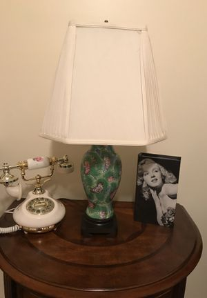 Beautiful Marble/Glass lamp and Shade for Sale in Gainesville, VA