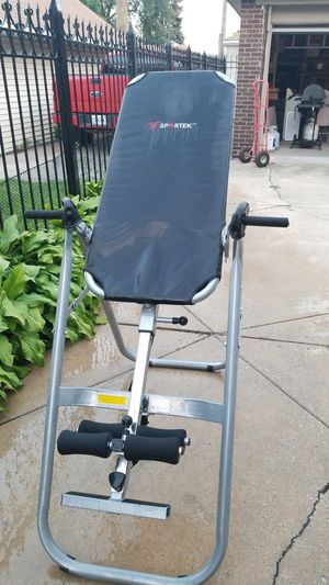 Inversion Table Exercise Equipment For Sale In Chicago Il Offerup Buy products such as gravity inversion table, suspension stretcher with back lumbar and ankle support, foldable inverting back support body. offerup