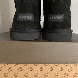Brand New/ Never Worn Black LAM Boots Thumbnail