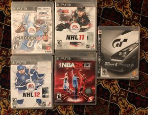 PS3 GAMES for Sale in Ashburn, VA
