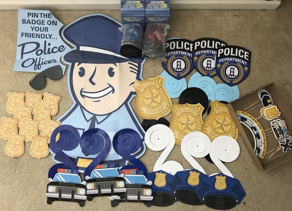 Police Themed Birthday Party Supplies For Sale In Virginia Beach VA
