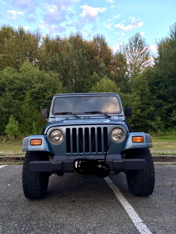 1999 Jeep Wrangler 4 0 5 Speed For Sale In Seattle  Wa