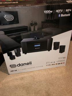 Daneli Acoustics HD - 52 HOME THEATER SYSTEM Thumbnail