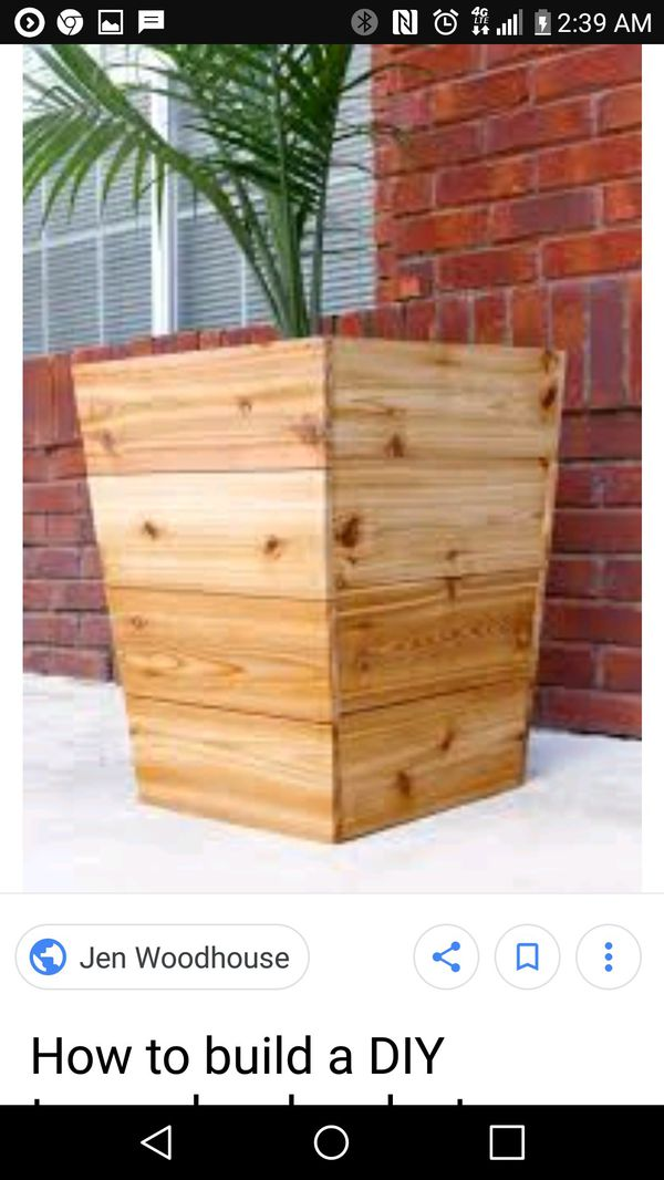 Red Wood Planter Boxes For Sale In Twentynine Palms Ca Offerup