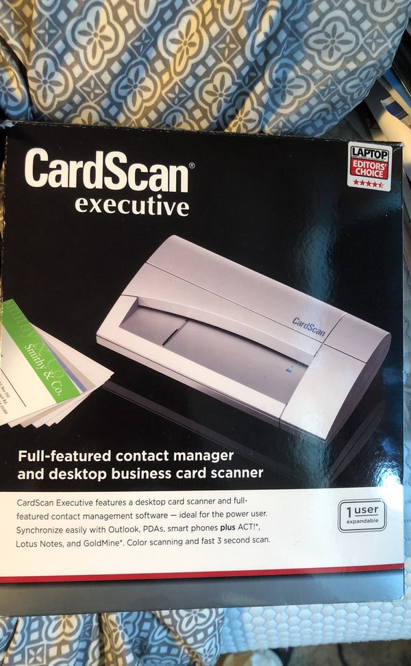 Card scanner executive business equipment in aurora co offerup 1 of 5 reheart Images