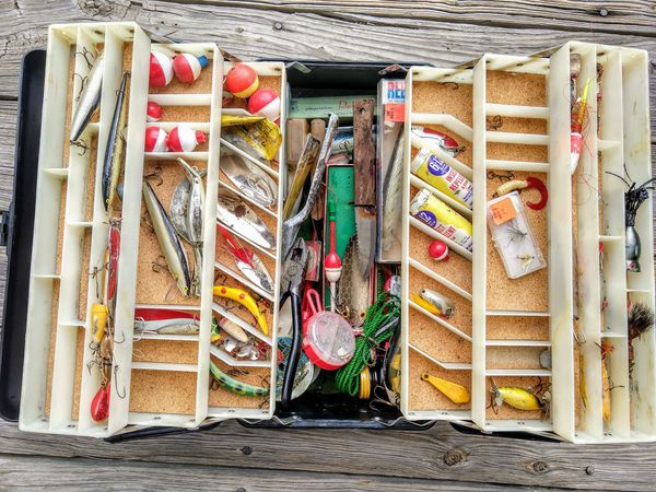 Fishing Tackle Box Lot for Sale in Raleigh, NC - OfferUp