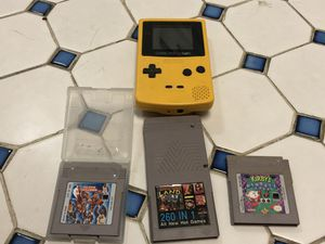 GameBoy Color with Games for Sale in Rockville, MD